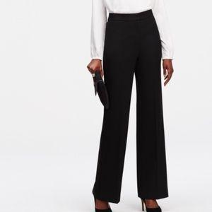 LOFT NWT Black Laura Pants
